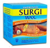 Surgi Hard Wax Brazilian Hair Remover NO Strips Needed 120ml/ 113 grma