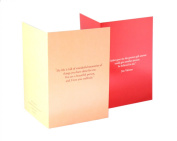 Mehr® Premium Greeting Card Collection - 10 Simple, Compact, Elegant Father's Day Greeting Cards