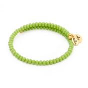 Chrysalis Sun Green Wrap Bangle