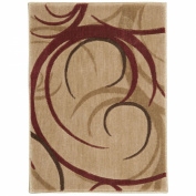Nourison ST82 Somerset Rectangle Rug, 2.7m by 4m, Beige
