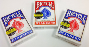 3 Pack - Bicycle Standard Poker Playing Cards