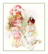 Child Play . Dress Up by Maud Humphrey Bogart's Counted Cross Stitch Chart