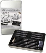 Advanced Sketching Art Kit W/Tin