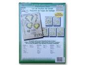 1003 Leaves Leaf Greenery One Stroke Reusable Painting Teaching Guide Worksheet Pack