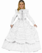 Dress up America Luxurious Royal Bride Cinderella Costume Set