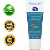 Natural Personal Lubricant for Sensitive Skin - Women and Men - Water Based Lube with Aloe Vera and Carrageenan - Paraben-free with Squeeze Tube Technology - 120ml - .  By Maple Holistics