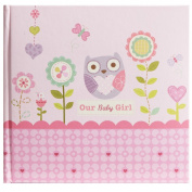 C.R. Gibson Stepping Stones Recordable Photo Album, Our Baby Girl