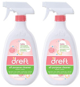 Dreft All Purpose Cleaner - 650ml - 2 pk