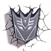 Hasbro Transformers 3d Deco Light FX Deception Shield Led Wall Nightlight