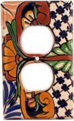 Outlet Mantel Talavera Switch Plate