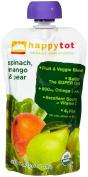Happy Family happy tot Purees - Spinach Mango & Pear - 120ml - 8 pk
