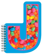 iscream / Letter J Shaped Initial Notebook