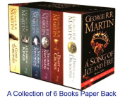 A Song of Ice & Fire - 6 Books Collection by George R R Martin