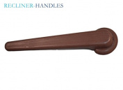 Recliner-Handles RECLINER FOOTREST RELEASE HANDLE LEVER 1.6cm BROWN LEVER