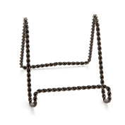 Darice 5202-65 Twisted Wire Easel Stand, 15cm , Black