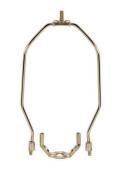 Satco 90-2375 - 902375, 14cm Nickel plated regular duty lamp shade harps
