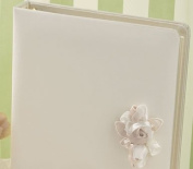 Ivy Lane Design presents Beverly Clark Collection Amour Wedding Memory Book, White
