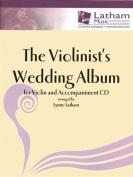 The Violinist's Wedding Album - Violin - Book/CD set - arranged by Lynne Latham