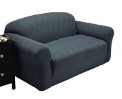 Stretch Sensations Optic Sofa Stretch Slipcover, Grey