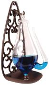 Esschert Design Weather Glass with Cast Iron Filigree Holder