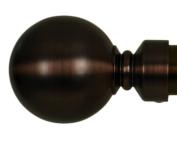 Home Decor Int'l HDI Ball Finials, Oil Rubbed Bronze, Set of 2