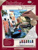 Royal & Langnickel Painting by Numbers Small Canvas Painting Set, Venetian Scene