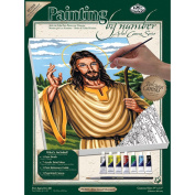 Royal & Langnickel Painting by Numbers Small Canvas Painting Set, The Good Shepard