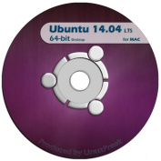 Ubuntu Linux 14.04 DVD - OFFICIAL 64-bit release for MAC