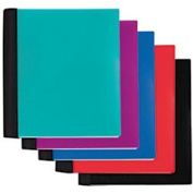 Office Depot(R) Brand 56% Recycled 5 Subject Spiral Stellar Notebook, 23cm . X 28cm ., College Ruled, 200 Sheets, Assorted Colours