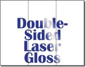 17kg Bond Laser Gloss Tri-fold Brochures - 250 Brochures
