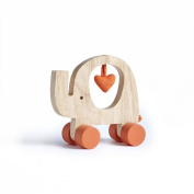 My First Friend Wooden Elephant Toy