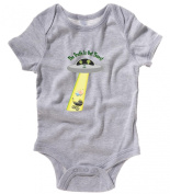 The Truth Is Out There Beamed Up - Alien Babygrow