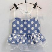 NK store Korean children girl clothes set, summer suit (sleeveless),100cm
