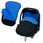 Universal Car Seat Footmuff To Fit Graco Junior Baby - Navy