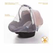 Diago Uk Exclusive Universal Mosquito/ Insect Net for Car seat