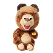 "Sweet young bear ""Mishutka"" from Masha and the bear 25cm/10"" sings Toy 2015"