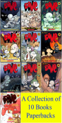 Bone Comic Books Series - 10 Brand New Paperbacks by Jeff Smith