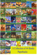 Magic Tree House Books Series - A Brand New Collection of 44 Paperbacks by Mary Pope Osborne