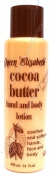 Queen Elisabeth Cocoa Butter Hand & Body Lotion Natural Protection From Sun And Wind 400 ml