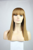 Long Straight Party Cosplay Christmas Halloween Wigs Like Real Human Hair