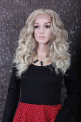 Fashion Long Curly Wavy Cosplay Party Christmas Halloween Wig