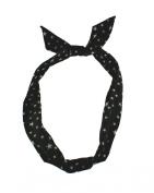 Zac's Alter Ego® Star Print Wire Headband, Retro Look