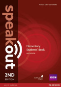 Speakout Elementary 2nd Edition Students' Book and DVD-ROM Pack