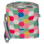 Cath Kidston Reversible Folded Messenger Bag Patchwork Spot Colourful Natural 15SS