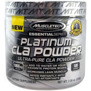 Platinum Pure CLA Powder, Unflavored - 200 grammes by MuscleTech mm