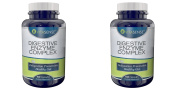 DOUBLE PACK (Pack of 2) Vitasense Digestive Enzyme Complex - Indigestion Prevention, Healthy Gut - 60 capsules