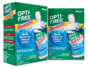 Alcon Opti-Free Replenish Contact Lens Solution 4x300ml 6 mths supply