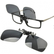 Ewin24 Polarised Sunglass Clip On Flip Up Sunglasses Clip Fashion Sunglass Holder