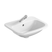 Armitage Shanks S248401 White Planet 21 Drop In Single Bowl Countertop