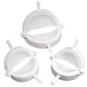 Kingzer 1 Set Of 3 Pcs Chinese Kitchen Cuisine Dough Press Dumpling Turnover Mould Maker Tool